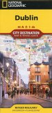 National Geographic City Destination Map Dublin