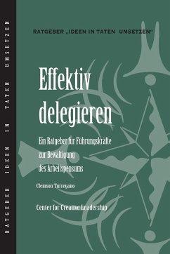 Delegating Effectively (German) - Turregano, Clemson