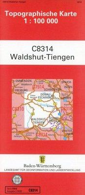 Waldshut-Tiengen 1:100 000