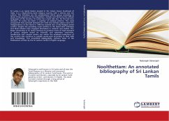 Noolthettam: An annotated bibliography of Sri Lankan Tamils