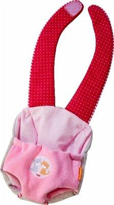 HABA 303729 - Tragesitz Jule, Puppentrage für Babypuppe Jule, mit Klettverschluss