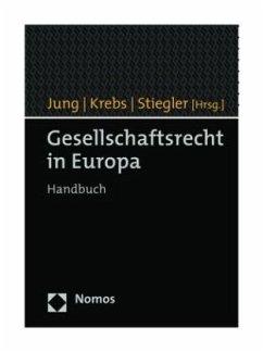 Gesellschaftsrecht in Europa
