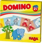 HABA 303763 - HABA-Lieblingsspiele, Domino Zootiere, Kinderspiel