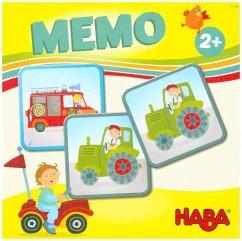 HABA 303760 - HABA-Lieblingsspiele, Memo Fahrzeuge, Kinderspiel