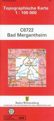 Bad Mergentheim 1:100 000