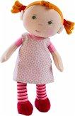 HABA 303730 - Kuschelpuppe Roya, Puppe, Stoffpuppe, 25cm