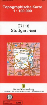 Stuttgart / Nord 1:100 000