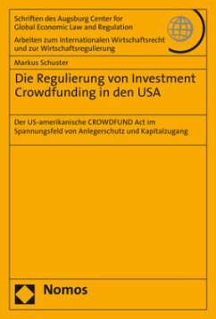 Die Regulierung von Investment Crowdfunding in ...