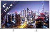 Panasonic TX-55FXW724 Metal Silver Hairline 139 cm (55 Zoll) Fernseher (4K / Ultra HD)