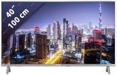 Panasonic TX-40FXW724 Metal Silver Hairline 100 cm (40 Zoll) Fernseher (4K / Ultra HD)