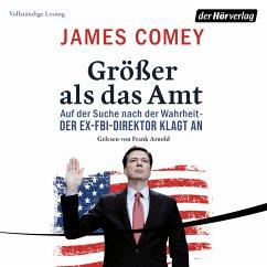 Größer als das Amt (MP3-Download) - Comey, James