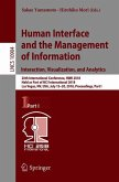 Human Interface and the Management of Information. Interaction, Visualization, and Analytics