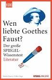 "Wen liebte Goethes ""Faust""? (eBook, ePUB)"
