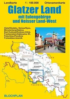 Landkarte Glatzer Land - Bloch, Dirk