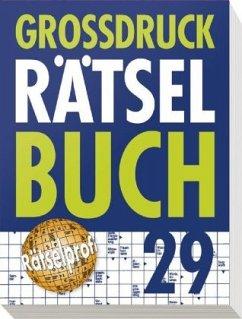Großdruck Rätselbuch Band 29