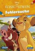 Disney - König der Löwen - Fehlersuche / Pixi kreativ Bd.126