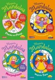 Pixi kreativ Serie Nr. 32. 4er Bundle: Neue magische Mandalas (4x1 Exemplar)