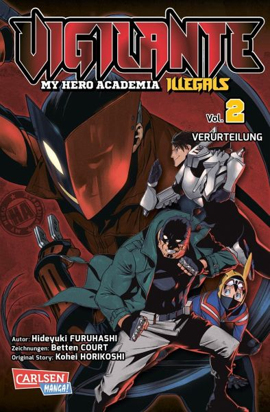 Buch-Reihe Vigilante - My Hero Academia Illegals
