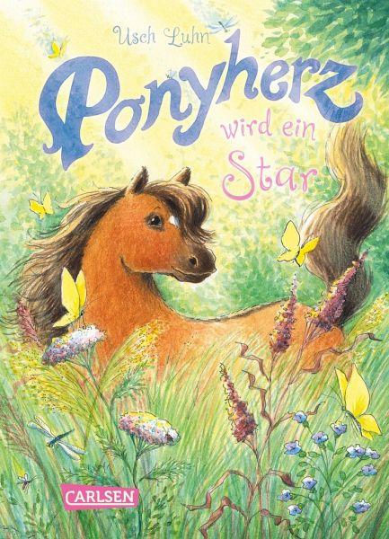 Buch-Reihe Ponyherz von Usch Luhn