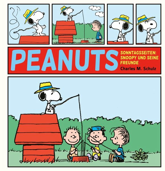 Buch-Reihe Peanuts Sonntagsseiten