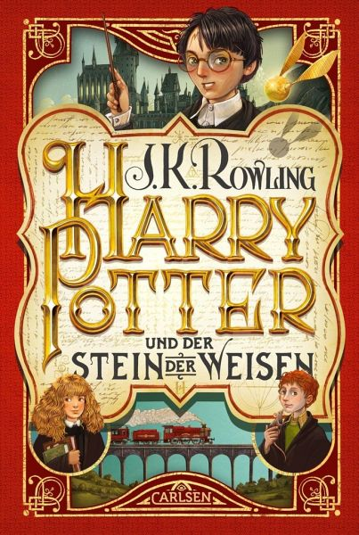 Buch-Reihe Harry Potter von Joanne K. Rowling