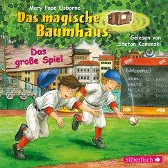 Das große Spiel / Das magische Baumhaus Bd.54 (1 Audio-CD) - Pope Osborne, Mary
