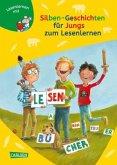 Silben-Geschichten für Jungs zum Lesenlernen / Lesemaus zum Lesenlernen Sammelbd.34