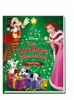Disney: Mein Adventskalenderbuch