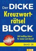 Der dicke Kreuzworträtsel-Block Band 28