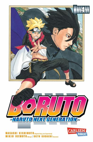 Buch-Reihe Boruto - Naruto the next Generation