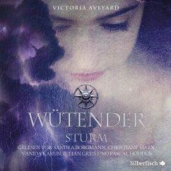Wütender Sturm / Die Farben des Blutes Bd.4 (2 Audio-CDs, MP3 Format) - Aveyard, Victoria