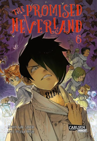 Buch-Reihe The Promised Neverland