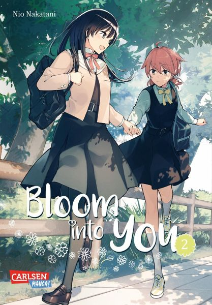 Buch-Reihe Bloom into you