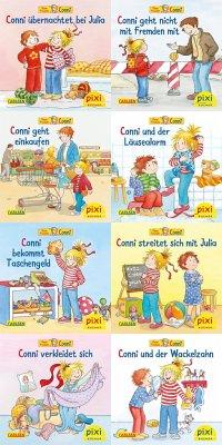 Pixi-Bundle 8er Serie 260. Meine Freundin Conni (8x1 Exemplar) - Schneider, Liane