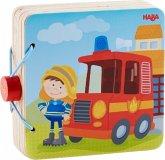 Holz-Babybuch Feuerwehr