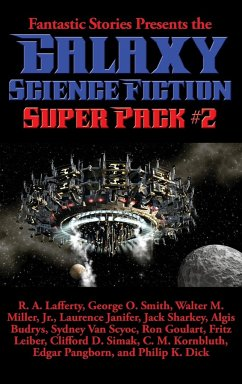 Fantastic Stories Presents the Galaxy Science Fiction Super Pack #2
