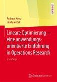 Lineare Optimierung - eine anwendungsorientierte Einführung in Operations Research (eBook, PDF)
