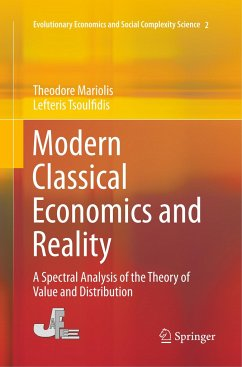 Modern Classical Economics and Reality - Mariolis, Theodore; Tsoulfidis, Lefteris