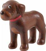 HABA 303857 - Little Friends, Hund Dusty, braun, 5,5 cm
