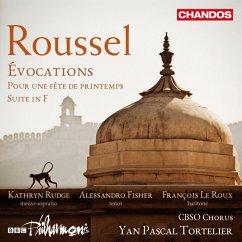 Evocations/Suite In F/Pour Une Fete De Printemps - Rudge/Fisher/Tortelier/Sbso Chorus/Bbc Philharm.