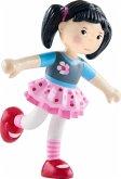 HABA 303889 - Little Friends, Lara, Biegepuppe, Minipuppe, 9,5cm