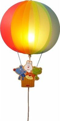 HABA 303907 - Schlummerlicht Traumreise, Kinderzimmer-Lampe, Ballon ...