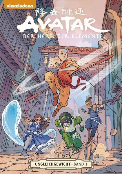 Buch-Reihe Avatar - Der Herr der Elemente