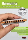 Harmonica - Learn to play quick and easy, w. MP3-CD
