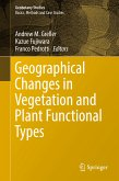 Geographical Changes in Vegetation and Plant Functional Types (eBook, PDF)