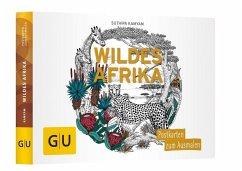 Wildes Afrika: Postkartenbuch zum Ausmalen (Män...