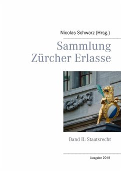 Sammlung Zürcher Erlasse (eBook, ePUB)