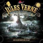 Die neuen Abenteuer des Phileas Fogg - Die schwimmende Stadt, 1 Audio-CD