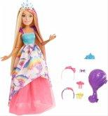 Barbie Dreamtopia Zauberhaar-Königr. Pupp