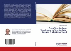 From Terminology-Vocabulary to Terminology-Science: A Ukrainian Trend